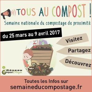 Réunions compostage – Avril, mai et juin
